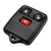 Keyless Entry Key Afstandsbediening FOB Shell Case voor Ford 3 BUTTON