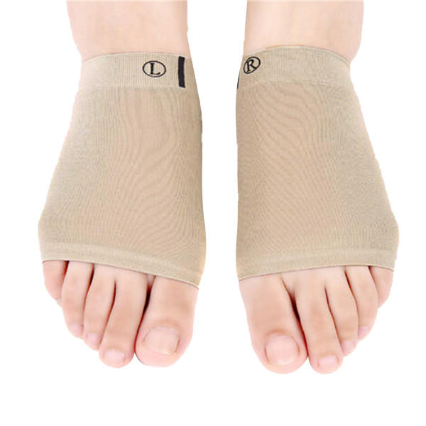 Stretchable Ventilate Silica Gel Platypodia Corrector Foot Care Support Cushion Pain Relif