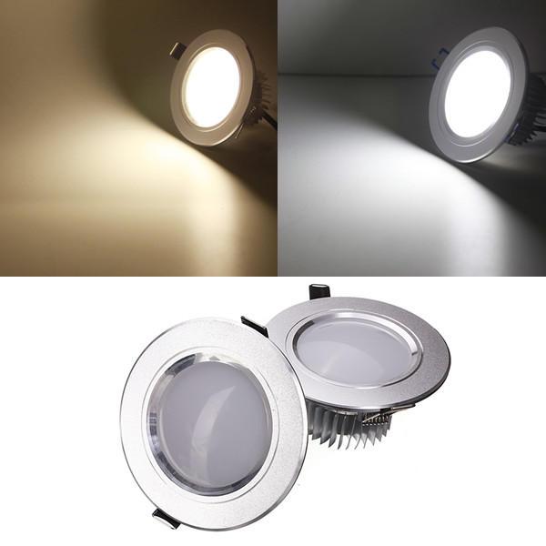 5W LED Soffitto leggero in incasso lampada Dimmable 220V + Driver
