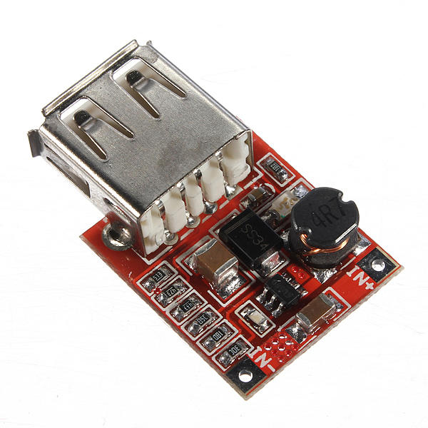 5Pcs 3V To 5V 1A USB Charger DC-DC Converter Step Up Boost Module For  Phone MP3 MP4