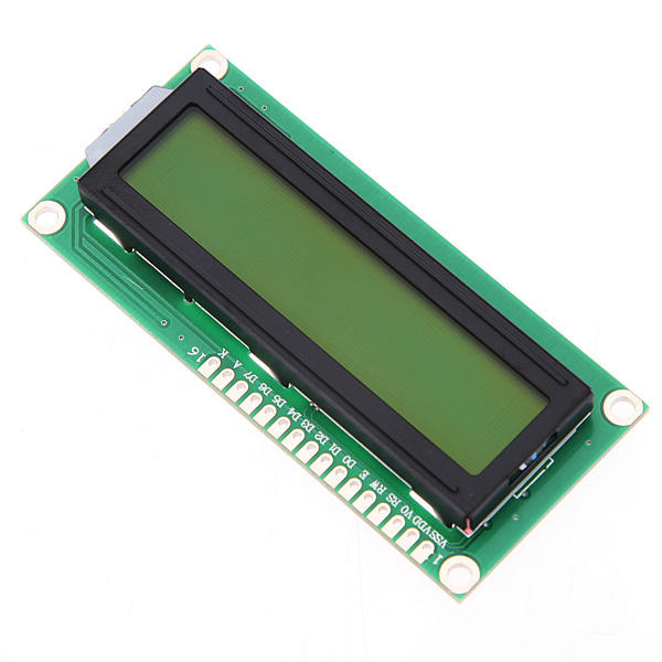 10Pcs Geekcreit® 1602 Character LCD Display Module Yellow Backlight For Arduino