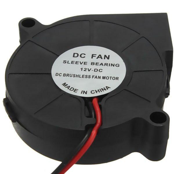 3D Printer 12V DC 50mm Blow Radial Cooling Fan