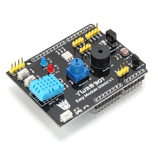 Multifunction Expansion Board DHT11 LM35 Temperature Humidity For UNO Geekcreit for Arduino - products that work with official Arduino boards