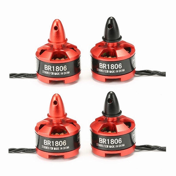 4X Racerstar Racing Edition 1806 BR1806 2280KV 1-3S Brushless Motor CW/CCW For 250 260 RC Drone FPV Racing