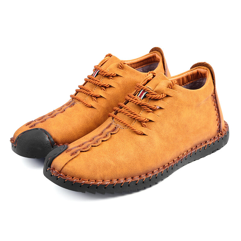 Hombres Causal Soft Sole Leather Daily Toble Botas