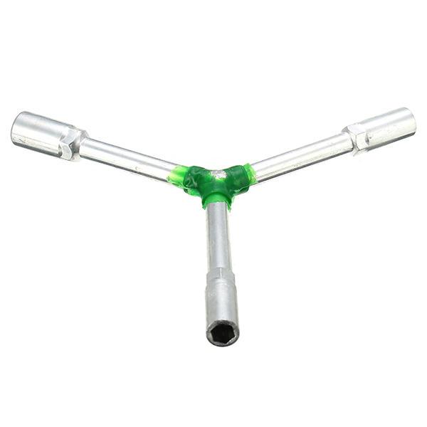 Мотоцикл Y-образный ключ тройничного хром-ванадиевой инструментальной стали торцевой гаечный ключ треугольник