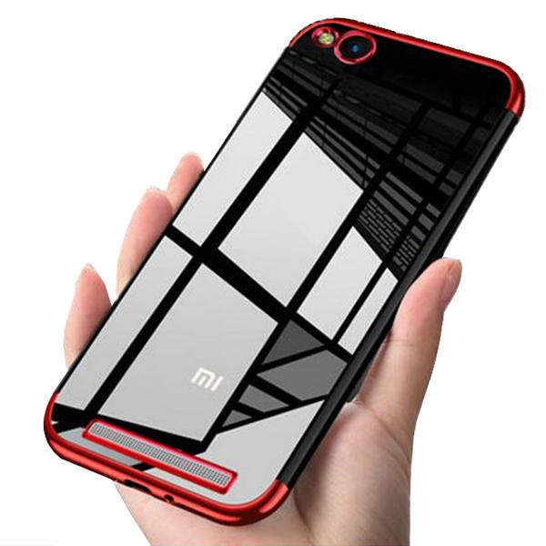 huge selection of 33488 d0f08 Bakeey Luxury Ultra-Thin Plating Soft TPU Protective Back Protective Case  For Xiaomi Redmi 5A