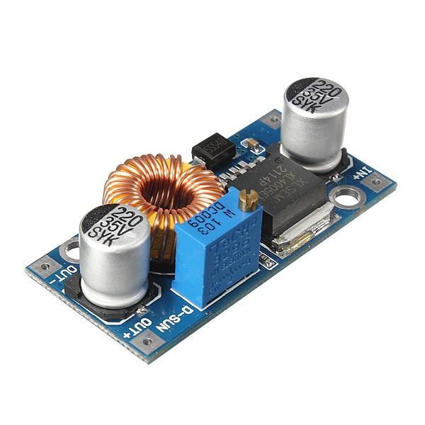 3Pcs Geekcreit® 5A XL4005 DC-DC Adjustable Step Down Module Power Supply Converter