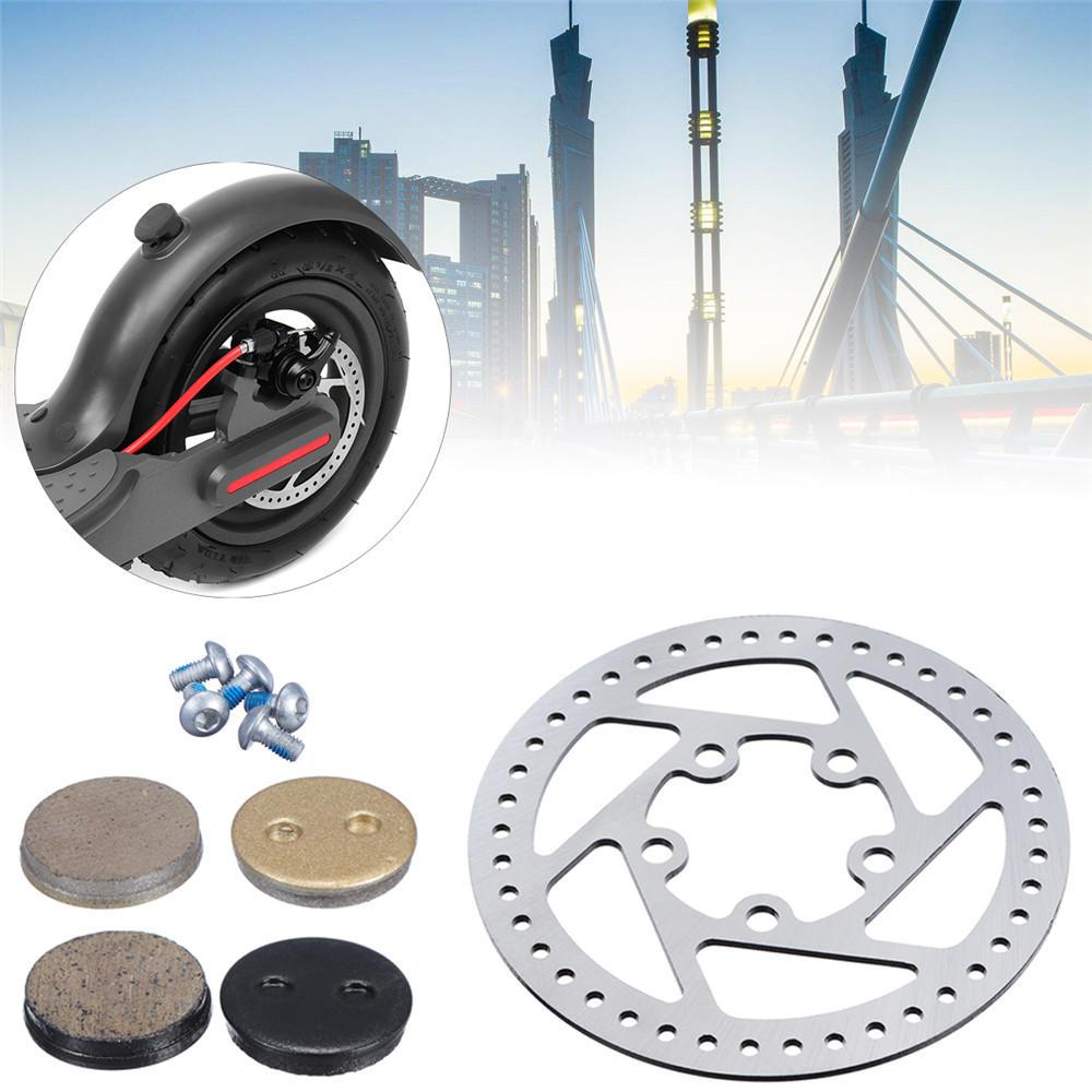 1pairs Electric Scooter Brake disc Brake Shoe Replacement Brake pad
