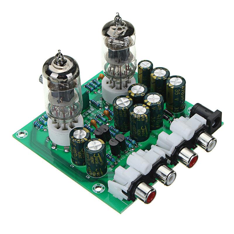 組立式AC 12V 1A 6J1プリアンプチューブプリアンプアンプボードプリアンプモジュールプリアンプモジュールヘッドフォンBile BufferステレオベースHIFI X10-D