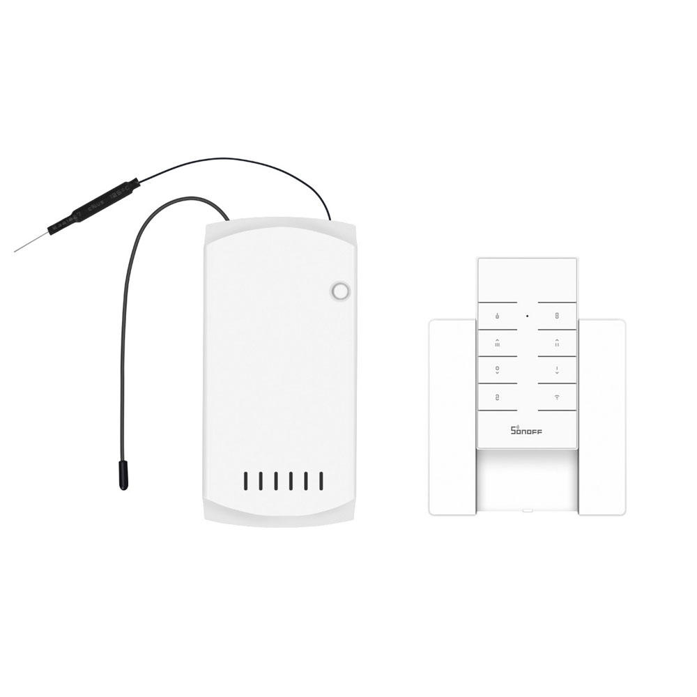 SONOFF IFan03 AC100-240V 50/60Hz WiFi Ceiling Fan And Light Controller with RM433 RF Remote Controller and Base