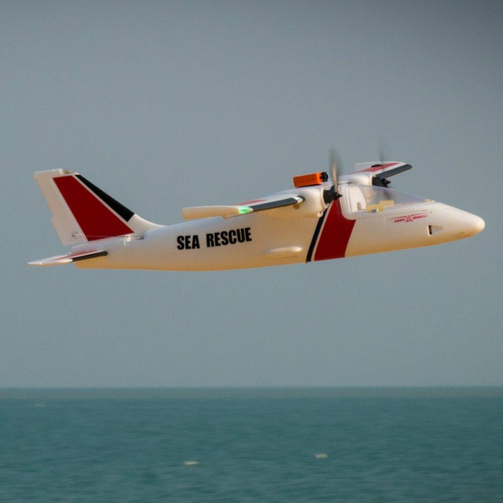 Sonicmodell Binary 1200mm Wingspan EPO Twin Motor Multirole Aerial Survey FPV Platform Mapping RC Airplane KIT