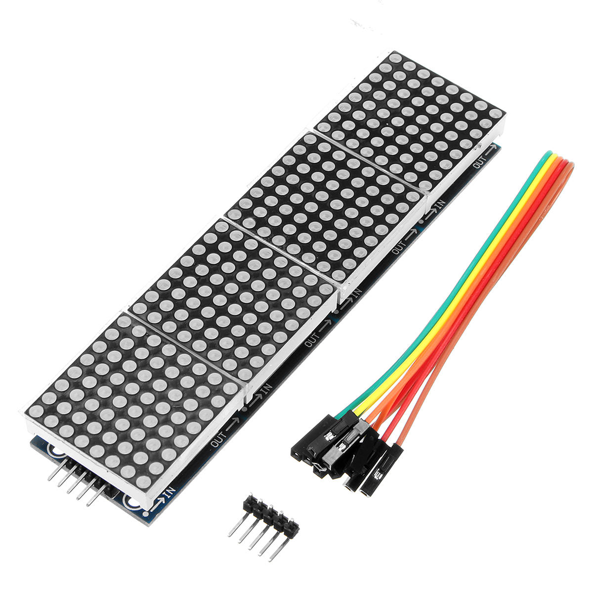 5pcs Geekcreit MAX7219 Dot Matrix LED Display Module 4-in-1 Display Geekcreit for Arduino - products that work with offi фото