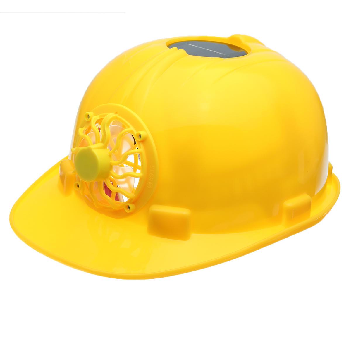 Amarillo Solar Fuerza Casco De Seguridad Trabajo Duro
