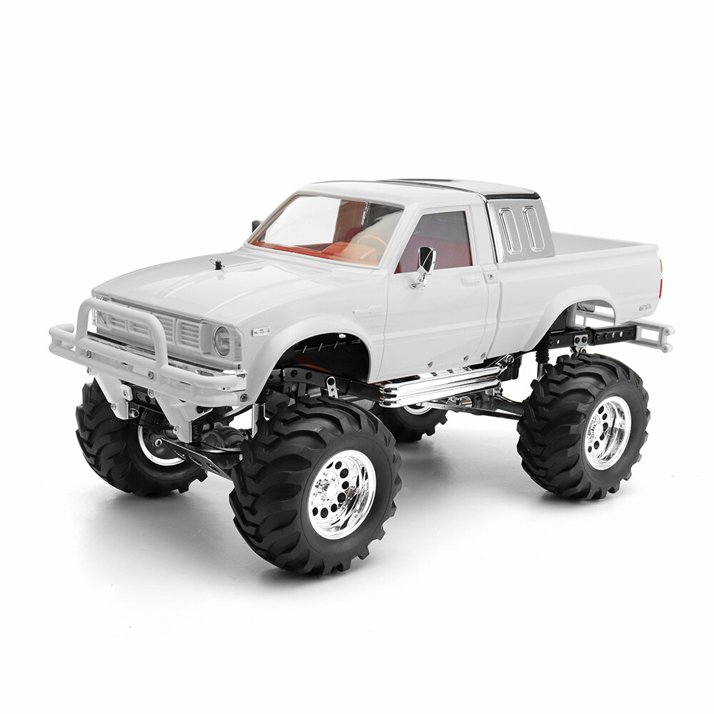 HG P407A 1/10 2.4G 4WD Rc Car Kit for TOYATO Metal 4X4 Pickup Truck No Servo Battery ESC Transmitter