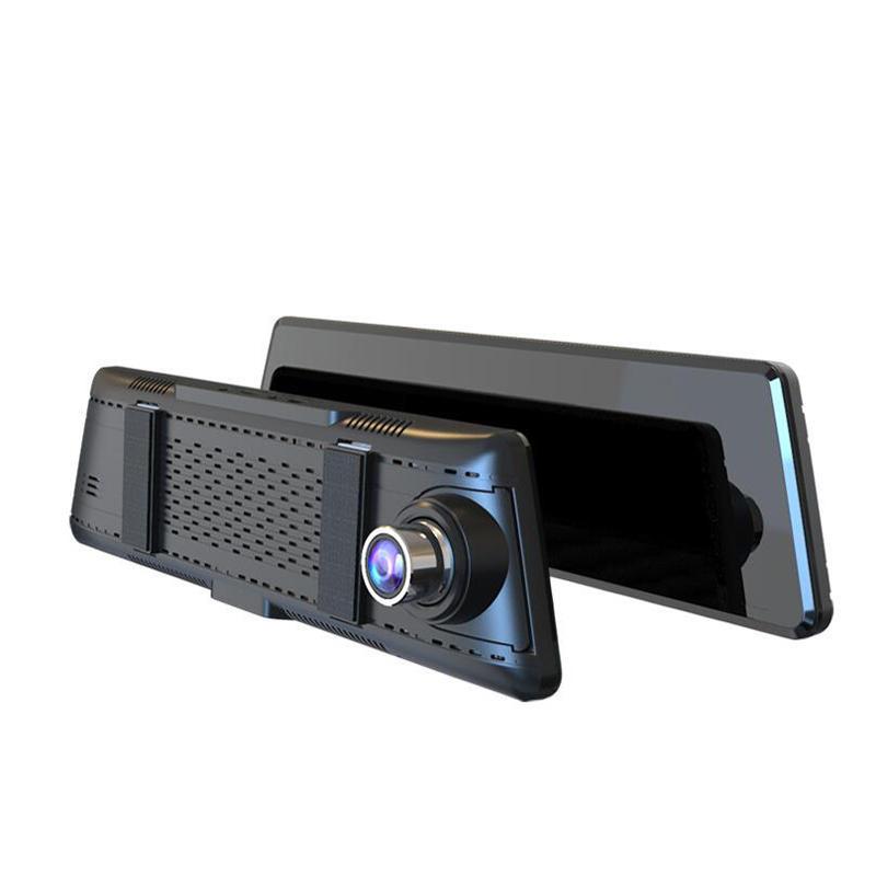 L01 10 Inch Full Screen Streaming Media Double Lens HD Night Vision Car DVR