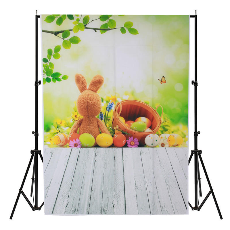 3x5FT Vinyl Bunny Fairy Tale Photography Backdrop Background Studio Prop, Banggood  - buy with discount