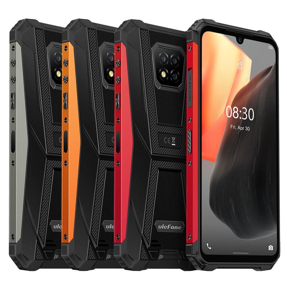 Ulefone Armor 8 Pro IP68IP69K防水Android11 6GB 128GB6.1インチトリプルリアカメラNFC5580mAh Helio P60 Octa Core4G頑丈なスマートフォン