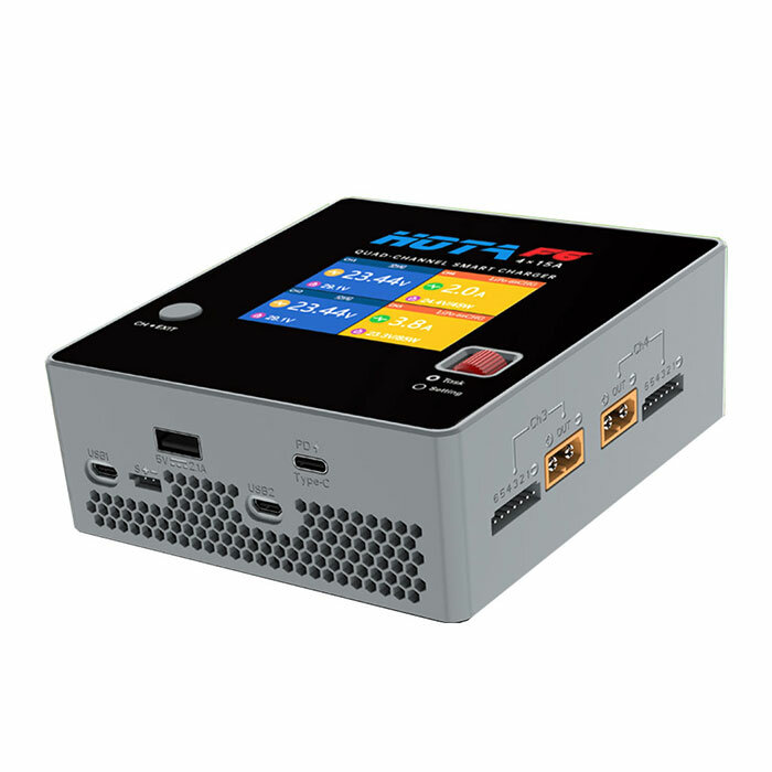 HOTA F6 4x250W 15A 4 Channel Smart Balance Charger