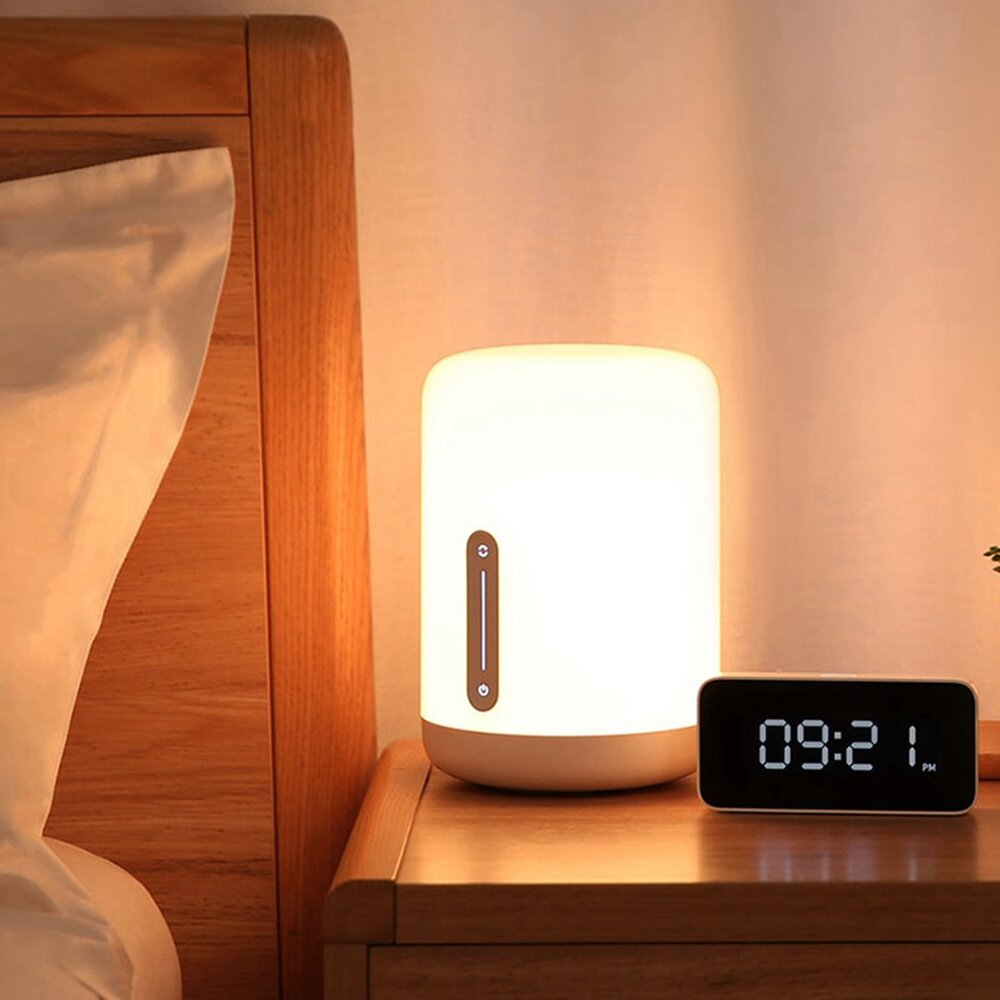 Xiaomi Mijia MJCTD02YL Colorful Bedside Light Table Lamp 2 bluetooth WiFi Touch APP Control Apple HomeKit Siri COD