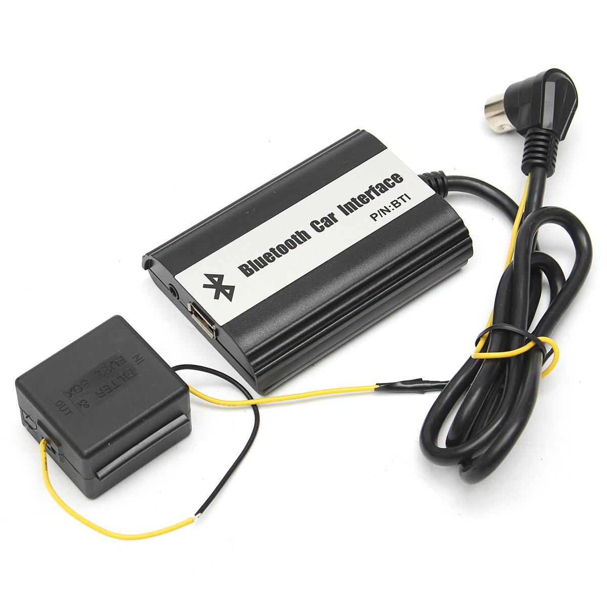 1 वोल्वो हू के लिए ऑटो ब्लूटूथ किट हैंड-फ्री ऑक्स एडाप्टर इंटरफेस सेट करें