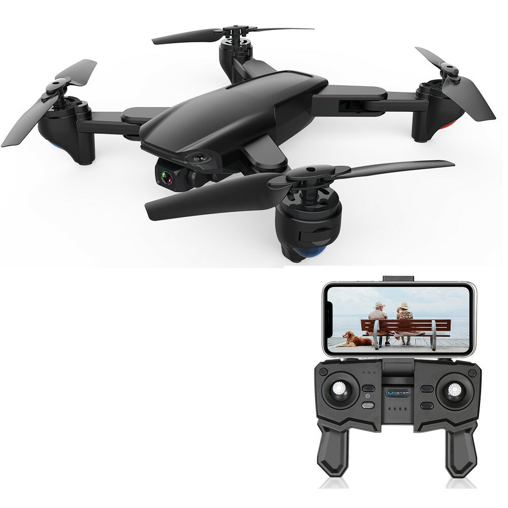 ZLRC SG701 2.4G WIFI FPV With 4K 720P Switchable Dual Cameras Foldable RC Quadcopter Drone RTF