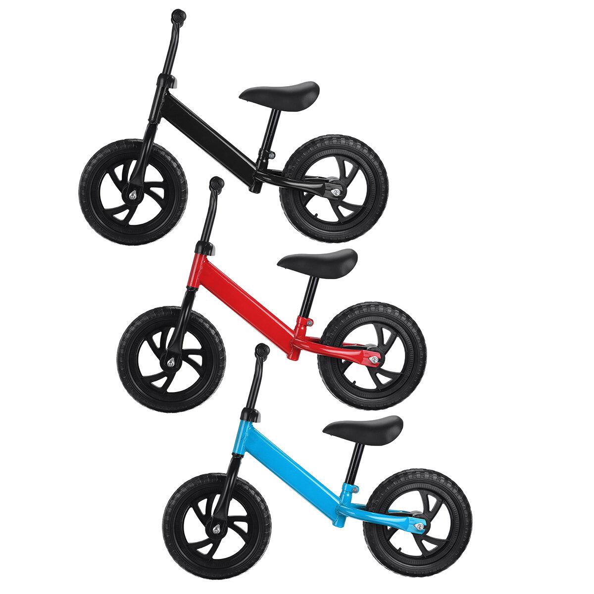 دراجة توازن 32 بوصة بدون دواسة للأطفال البنات والأولاد التدريب إدفع دراجة لعمر 2-6 سنوات هدية ركوب في الكريسماس