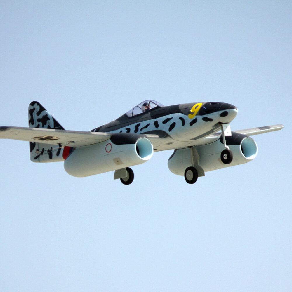 Dynam Me 262 Twin 70mm EDF Jet 1500mm Wingspan EPO RC Airplane PNP