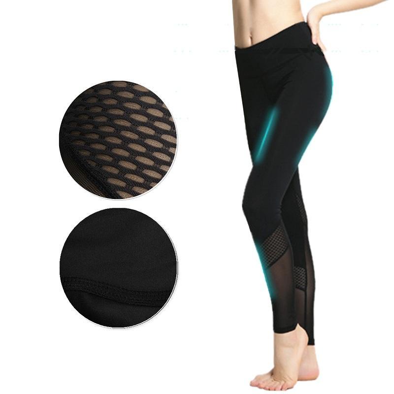 6793349784a women ladies running yoga fitness leggings gym exercise sports yoga ...