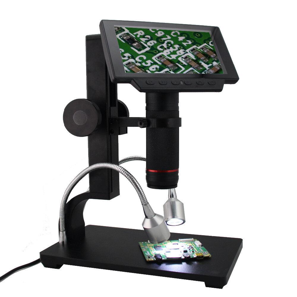 Andonstar ADSM302 Långt Object Distance Digital USB Mikroskop För Mobiltelefon Reparationslödningsverktyg BGA SMT Watch