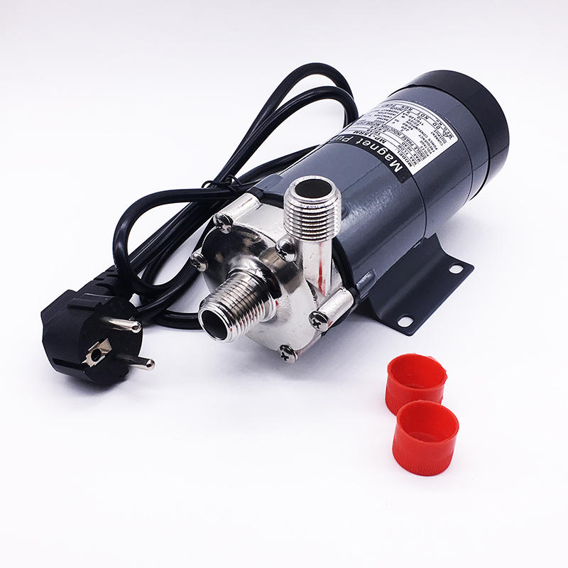 HomeBrew Pump MP- 15R Food Grade 304 Stainless Steel Brewery Beer Home brew 220V Magnetic Drive Water Pump Temperature 1 фото