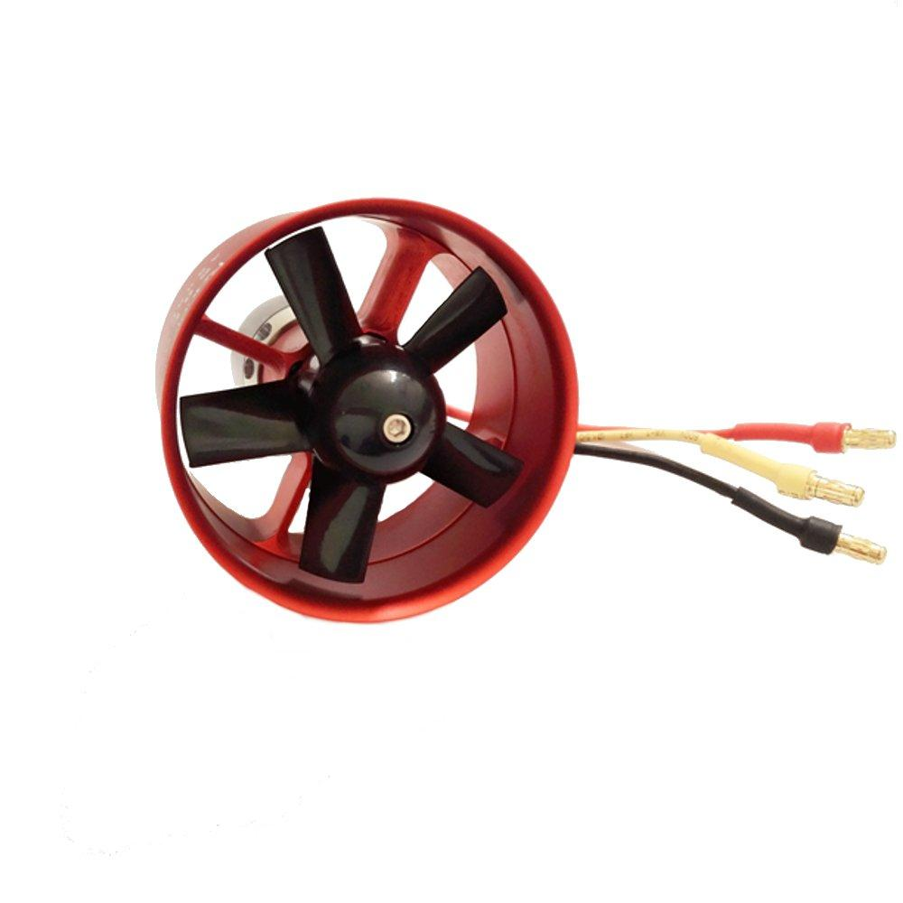 Racerstar 50mm 5 Blades EDF Unit With B2627 KV4800 Brushless Outrunner Motor 450W 3S For RC Airplane