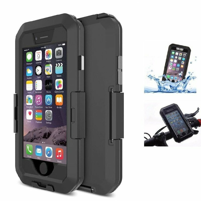 Ipx8 Waterproof Pouch Bag Case Cover Bicycle Phone Mount Holder For Iphone 6 6s 4 7 Inch Sale Banggood Com