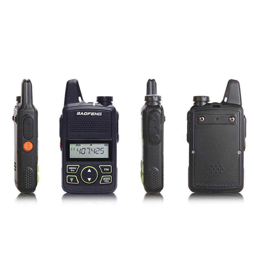 BAOFENG BF-T1 Frequency 400-470MHz 20 Channels Mini Ultra Thin Driving Hotel Civilian Walkie Talkie Intercom