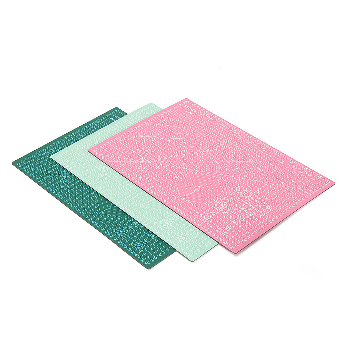 Suleve Cm01 A3 Pvc Cutting Mat Eco Self Healing Colorful For Craft Diy 450x300x2 5mm