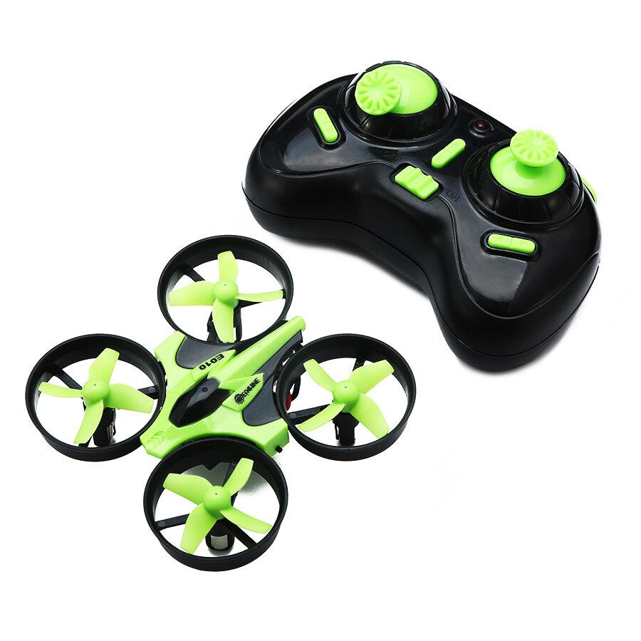 Eachine E010 Mini 2.4G 4CH 6 Axis Headless Mode RC Drone Quadcopter RTF