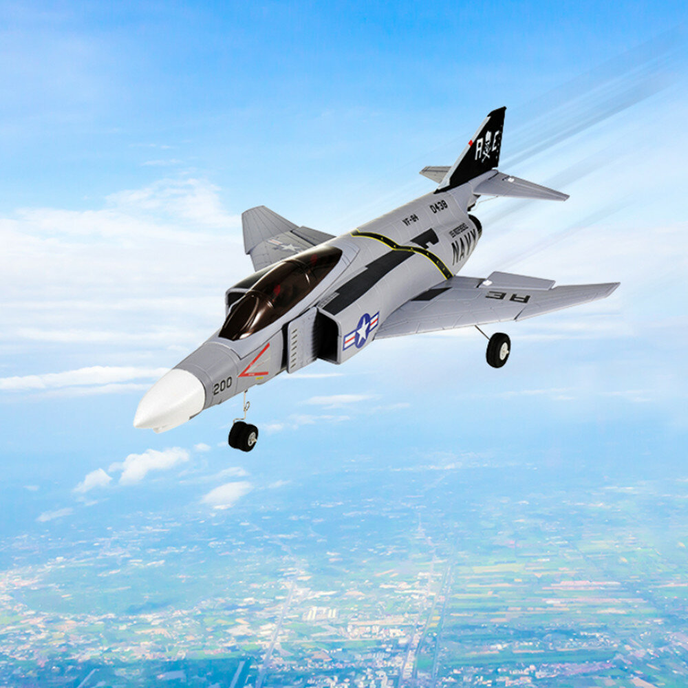 TOP RC F-4 628mm Wingspan Fighter RC Airplane RC Plane PNP with 64mm Ducted Fan