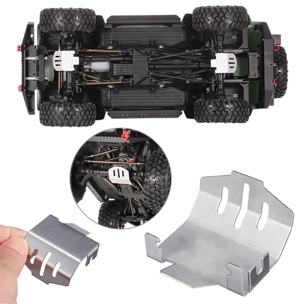1pc Aluminum Metal Center Skid Plate for Axial SCX10 1//10 RC Crawle Car