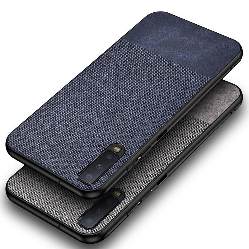 Bakeey Cotton Cloth Protective Case For Samsung Galaxy A50 2019 Anti Fingerprint Back Cover