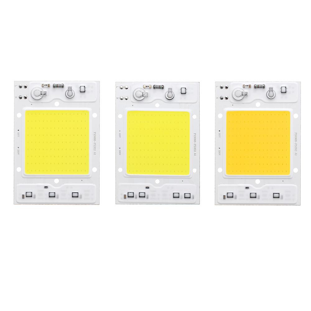 LUSTREON AC110V/220V 30W 40W 50W White/Warm White COB LED Chip 100lm/w for DIY Flood Light