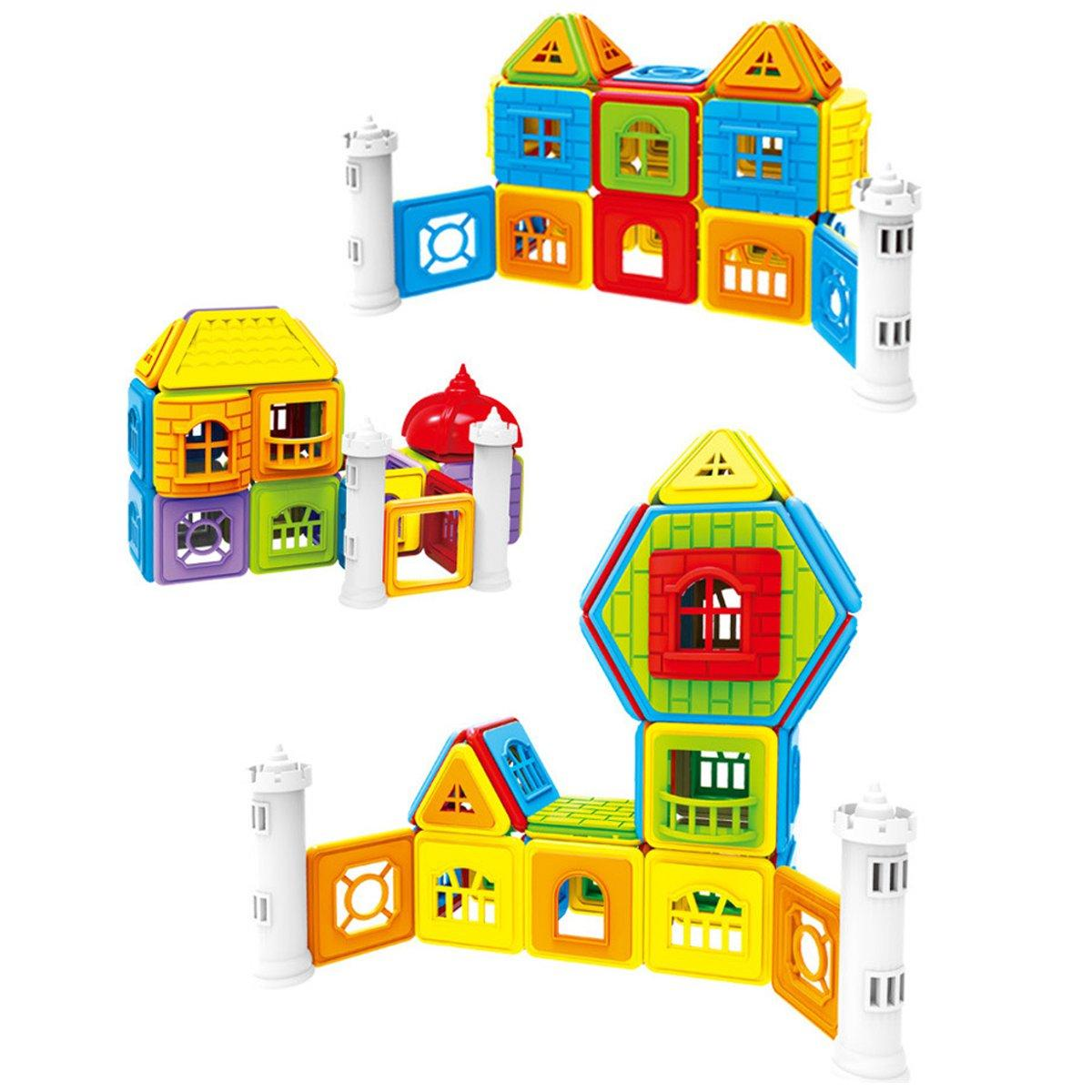 Magnetic Building Blocks Construction Educational Kids Magic Magnetic Toys  Gift