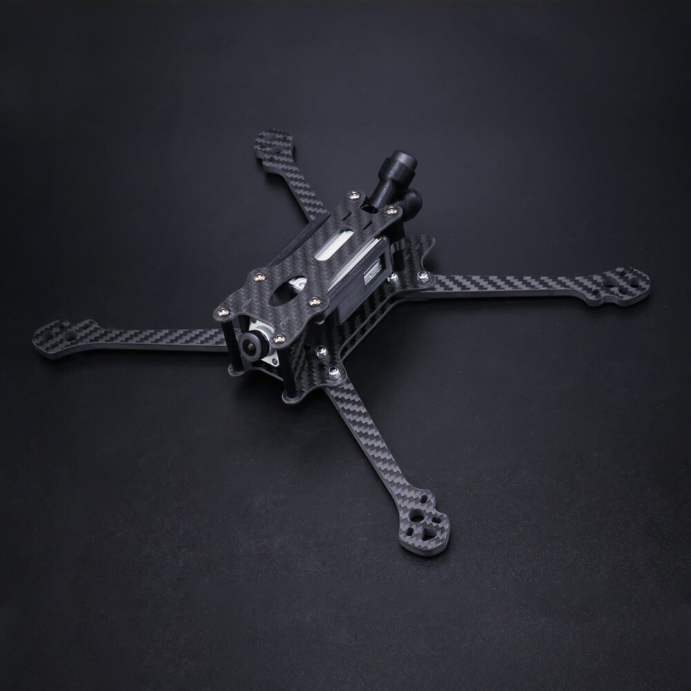 Eachine Tyro119 HD 260mm Wheelbase 5mm Arm Thickness 3K Carbon Fiber 6 Inch Freestyle Frame Kit Compatible DJI Air Un  - buy with discount