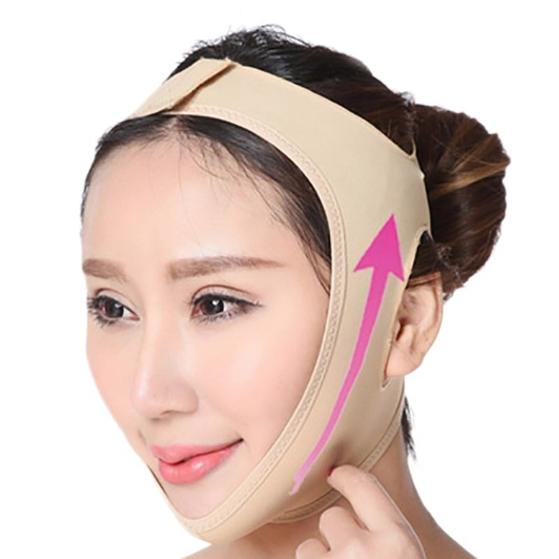 Facial Slimming Bandage Face V Shaper Relaxation Lift Up Belt Reduce Double Chin Tool Skin Care Mask