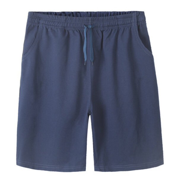 mens cotton shorts with elasticated waist
