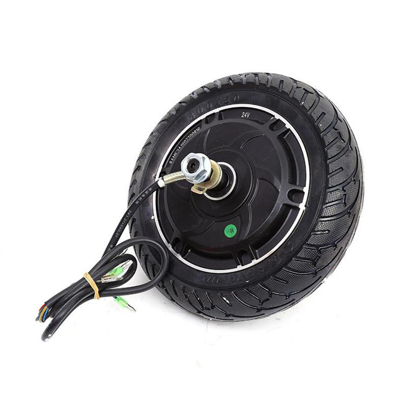 8-tums 24V / 36V / 48V borstlös navmotortandlöst hjul för elektrisk skoterskateboard