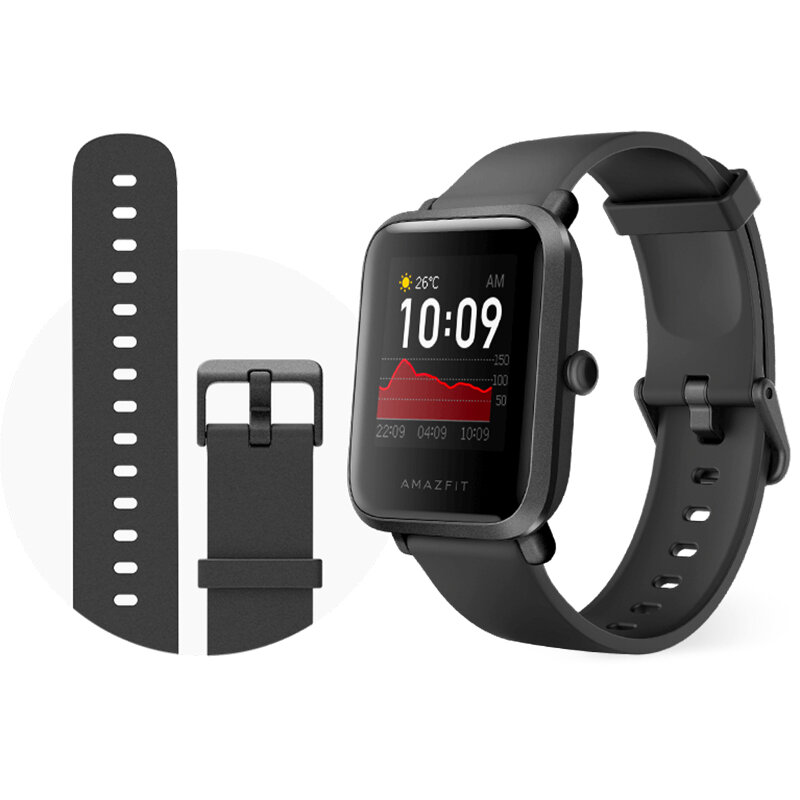Amazfit Bip S GPS Built-in Wristband 40 Days Standby Lightweight Fitness Tracker 5ATM Smart Watch