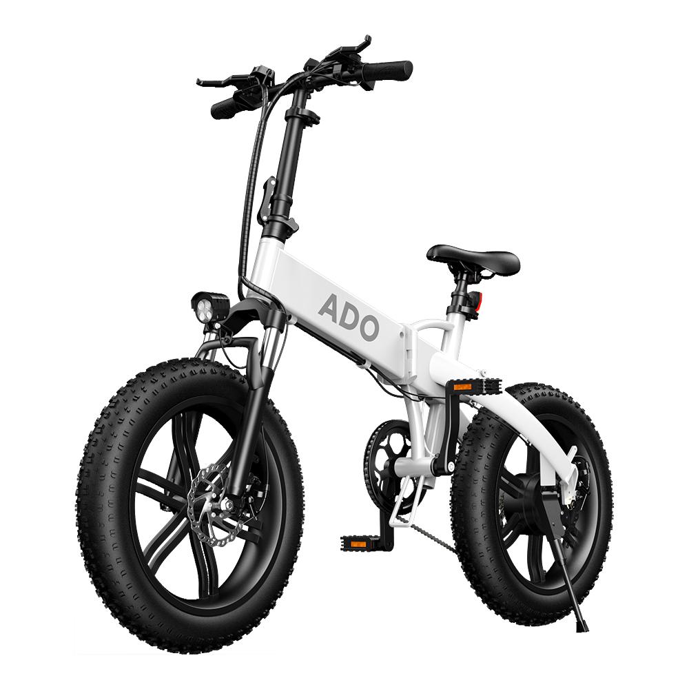 [EU DIRECT] ADO A20F 500W 36V 10.4Ah 20 Inch Snow Tire Electric Bicycle 35km/h Max Speed 70Km Mileage 120Kg Max Load