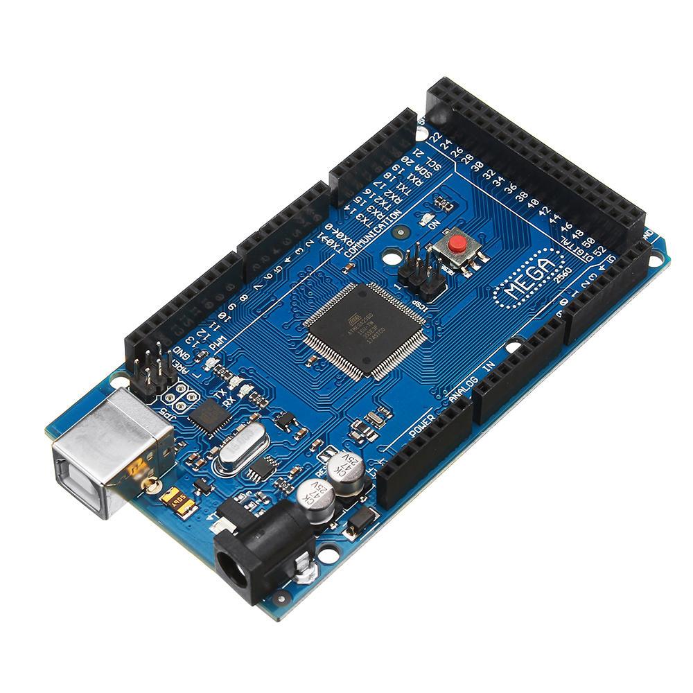 Modul Kontrol Geekcreit Mega 2560 R3 ATmega2560-16AU Tanpa Kabel USB Untuk