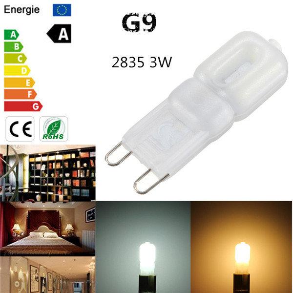 G9 3W 2835 SMD 14 LED Lampen Birnen Licht Abdeckung reines / warmes Weiß 220V / 110V