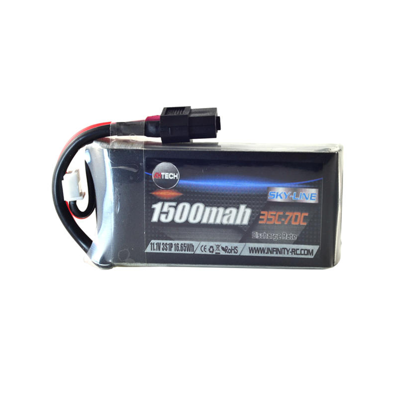 AHTECH Infinity 3S 11.1V 1500mAh 35C Lipo Battery XT60 Connector For RC Drone FPV Racing Multi Rotor